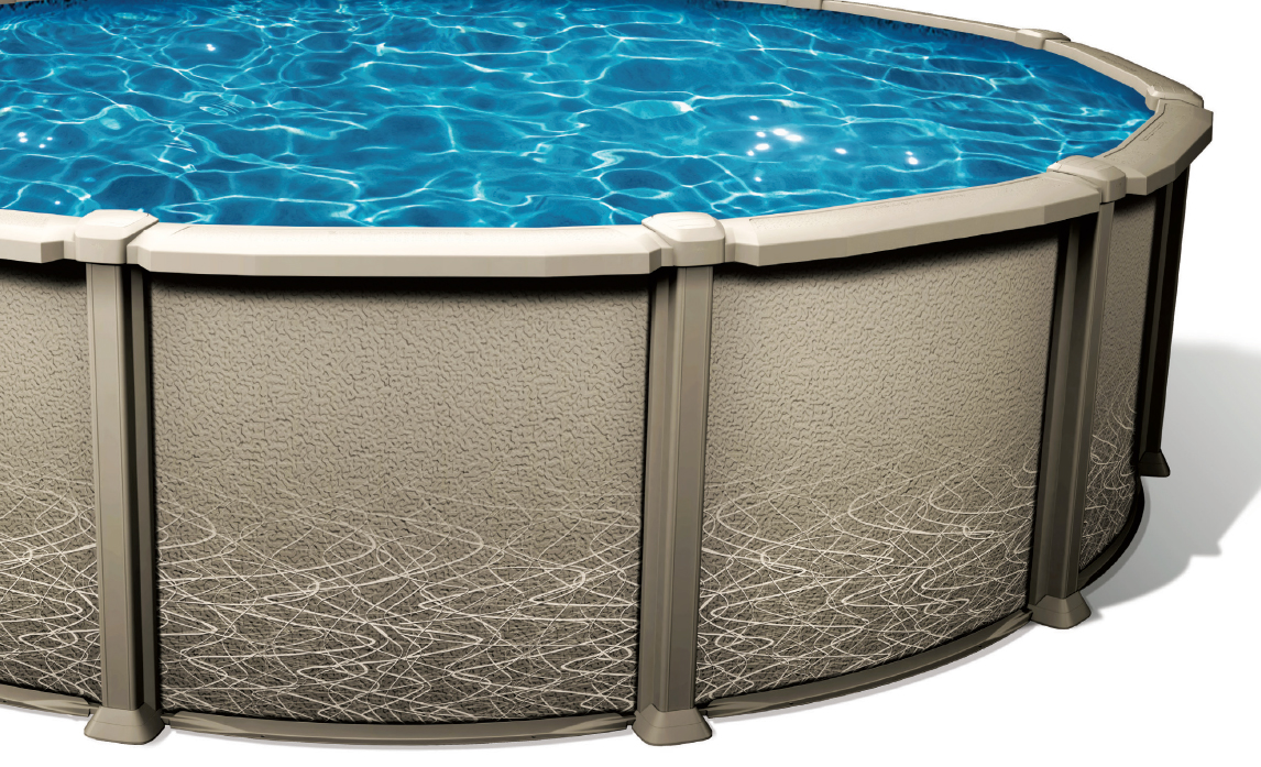 Piscine hors terre liberty piscines et spas 5000 for Piscine hors terre